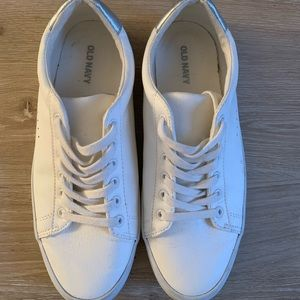 Old Navy Faux Leather Sneakers